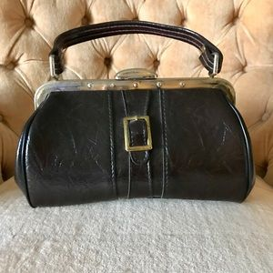 Vintage 1960's Brown Purse 👜